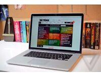 Macbook Pro Retina 2014 15 inch , i7 - 16GB - 512 GB . office , adobe