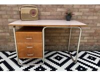 Vintage 1960/70s French Style School Desk