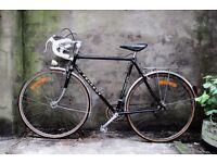 PEUGEOT RECORD DU MONDE, 22.5 inch, 57 cm, vintage racer arcing road bike, 10 speed