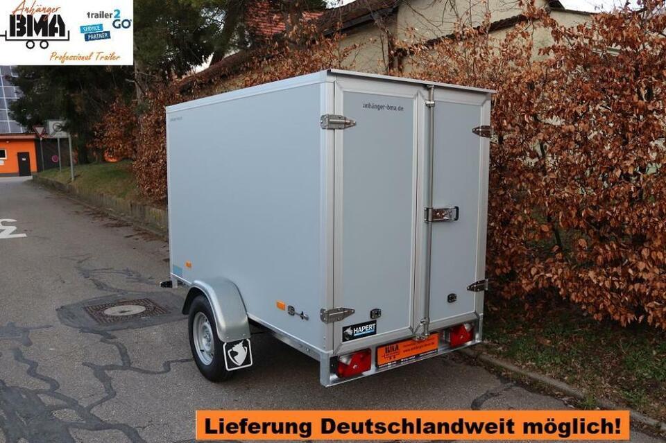 Kofferanhänger Hapert Sapphire 1500kg 250x130x150 Anhänger GRAU in Tannheim