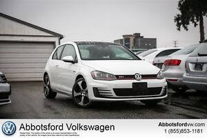 2015 Volkswagen Golf GTI 3-Door - Locally Owned/ No Claims