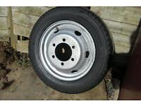 Ford Transit/ LDV wheel and tyre