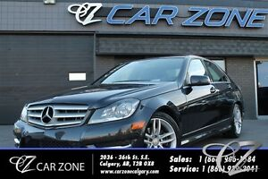 2012 Mercedes-Benz C-Class C250 4MATIC NAVI, AWD, LOW KMS