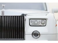 WEDDING CAR HIRE, CLASSIC & VINTAGE CAR HIRE, ROLLS ROYCE PHANTOM, BENTLEY, LIMOUSINE & MERCEDES