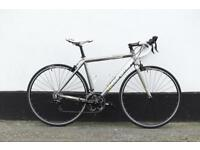 Boardman chrome racing bike M size