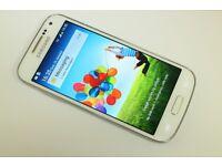 SAMSUNG GALAXY S4 MINI 4G GT I9195 UNLOCKED SIM FREE SMART PHONE WHITE