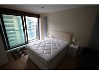 Large Double Bedroom Available With Private Balcony, Millhabrour by South Quay DLR, Canary Wharf