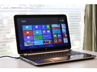 HP Pavilion 15-e040sa Blue , AMD A4 Quad Core 1.5, 8G RAM, 750gb Hard Drive, Windows 10