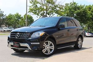 2012 Mercedes-Benz M-Class ML 350 BlueTEC/ NAVIGATION/ BACKUP