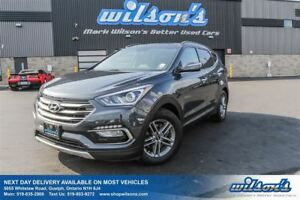 2017 Hyundai Santa Fe Sport SPORT AWD! LEATHER! PANORAMIC SUNROO
