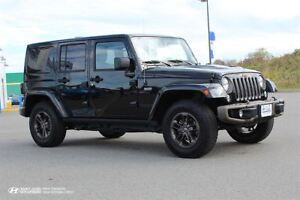 2017 Jeep WRANGLER UNLIMITED Sahara! 75th Anniversary! TWO TOPS!