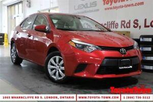 2014 Toyota Corolla SINGLE OWNER LE HEATED SEATS BACKUP CAMERA