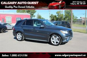2012 Mercedes-Benz M-Class ML 350 BlueTEC AMG PKG/AWD/NAVI/B.CAM