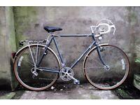 DAWES WARWICK, 24 inch, Reynolds 531, Shimano 600, vintage racer racing road bike, 12 speed
