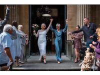 Last minute wedding photography offer for Bristol Register Office weddings