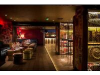 Cloakroom attendant needed for Chelsea nightclub