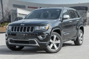 2016 Jeep Grand Cherokee Limited, SUNROOF, LEATHER, V6, AWD