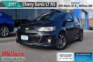 2017 Chevrolet Sonic LT/RS/SUNRF/HTD STS/REAR CAM/TRUE NORTH PKG