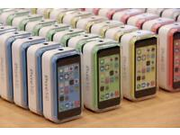 Apple Iphone5C 16GB 32GB Brand new Condition boxed and warranty