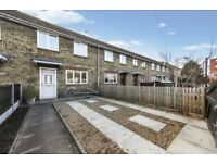 Cheap Newly Refurbished 3 bed 2 bath Terraced house with private garden AND Parking! Available Feb