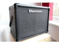 RRP £99! BLACKSTAR ID:CORE 10 STEREO BEAUTIFUL GUITAR AMP with Effects, Power Supply & Strap - VGC!