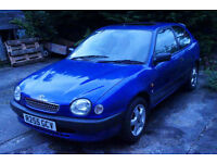 Toyota Corolla GS 1600 [lapsed MOT] great little car, very reliable.
