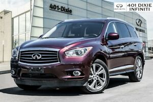 2014 Infiniti QX60 Tech! DVD! 360 Cam! Bose! Navi! Top of line!