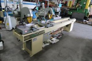 PERTICI Univer 400P Double End Miter Saw