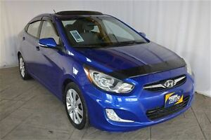 2012 Hyundai Accent GLS WITH POWER MOONROOF, ALLOY RIMS