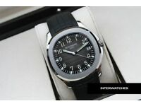 Patek Philippe Aquanaut Black Rubber Black Dial