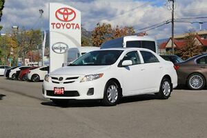 2013 Toyota Corolla CE UPGRADE 1.8L FWD Heated Seats/Sunroof