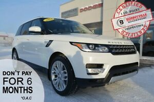 2014 Land Rover Range Rover Sport- AIR RIDE, TERRAIN SYSTEM, NAV