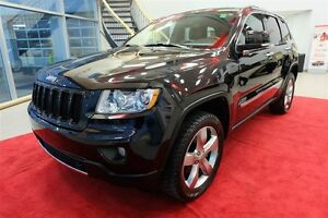 2013 Jeep Grand Cherokee OVERLAND + CAM RECUL + TOIT