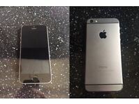 iPhone 5 16GB (custom iPhone 6 mini) Space Grey & Black EE Orange T-Mobile Virgin
