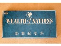 Wealth of Nations strategy board game by Parker Brothers. Complete, in excellent condition.