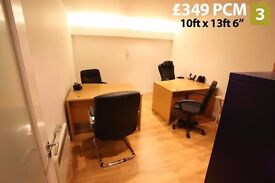 2.Office, all bills included, free internet & Parking, 24/7 Access, Near M77, M8, M74, Glasgow, G41