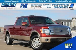 2014 Ford F-150 LARIAT*NAV SYSTEM*REAR CAMERA*PARKING SONAR*