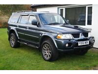 Mitsubishi Shogun Sport 2.5TD Trojan, FSH Serviced every 8,000 mile,Full years MOT inc.