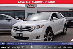 2015 Toyota Venza XLE V6 AWD with heated leather seating