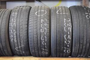 235 50 18 Used tires.