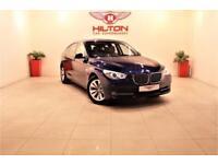 BMW 5 SERIES 3.0 530D SE GRAN TURISMO 5d AUTO 242 BHP + SAT NAV (blue) 2010