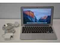 Apple MacBook Air 2015 model 11 inch i5 1.6GHz 128GB SSD 4GB RAM OFFICE 2016