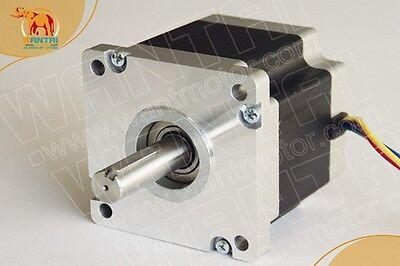 Wantai 1pc Nema42 Stepper Motor 110bygh99-001 99mm 1800oz-in 5.5a Keyway Shaft