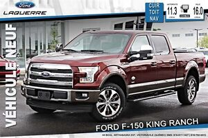 2017 Ford F-150 KING RANCH* 195$/SEMAINE*
