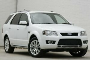 2010 Ford Territory SY MkII Ghia (RWD) White 4 Speed Auto Seq Sportshift Wagon Morayfield Caboolture Area Preview