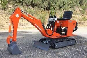 AUSTRALIAN MADE Petrol Mini Excavator E1400 Queanbeyan Queanbeyan Area Preview