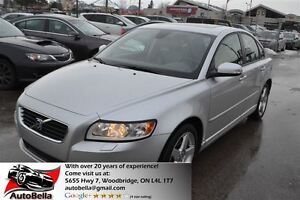 2008 Volvo S40 2.4i LEATHER SUNROOF NO ACCIDENT
