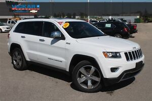 2014 Jeep Grand Cherokee Limited * Navigation * Heated Leather *