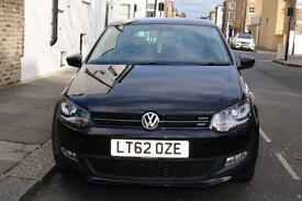 Volkswagen Polo 1.2, Black 5 Door