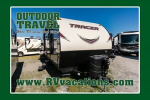 2017 PRIMETIME TRACER 305AIR USED TRAVEL TRAILER